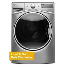 Utility Sink Pump Home Depot by Whirlpool 4 5 Cu Ft Front Load Washer With Load U0026 Go In Chrome