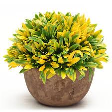 Amazoncom Vafany Artificial Lover Grass Flowers Iron Vase