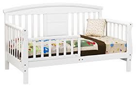 Amazon DaVinci Elizabeth II Convertible Toddler Bed in White
