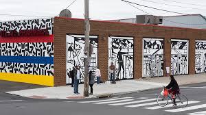 murals at swanson walk mural arts philadelphia mural arts