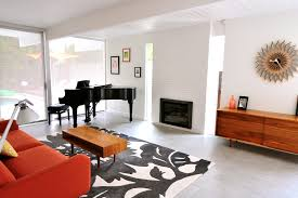 grey floor tiles living room midcentury with my houzz