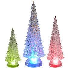 Tabletop LED Christmas Trees
