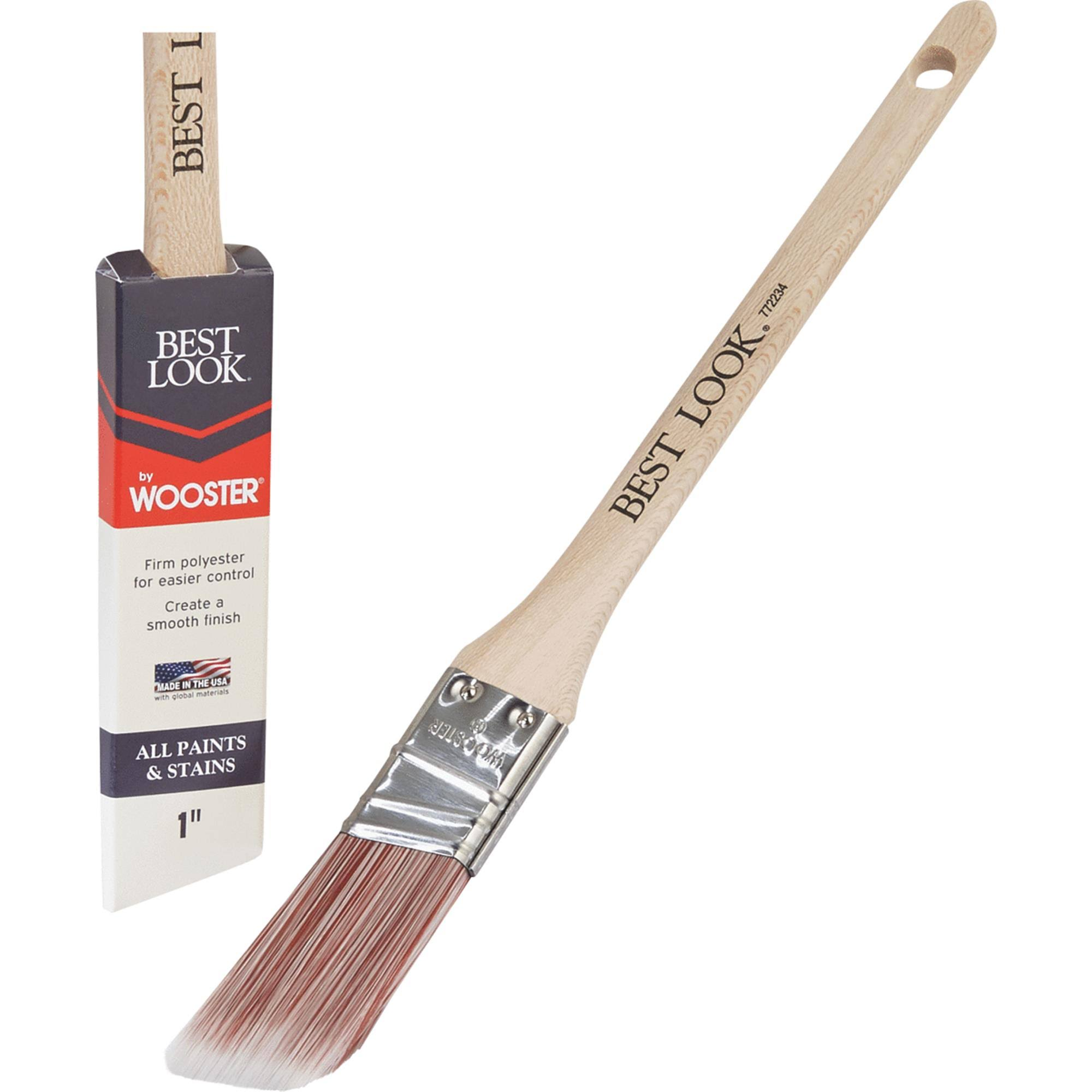 Best Look by Wooster Polyester Paint Brush - D4021-1