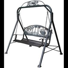 Cast Iron Elk Garden Swing