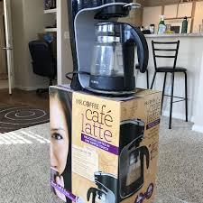 Black MrCoffee Latte Machine Maker For Cheap Orginal Price On Amazon 350