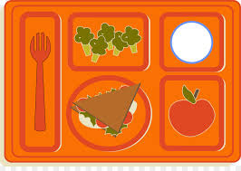 Lunch Tray Cafeteria Clip Art