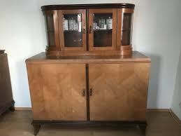 alte esszimmermöbel komplett 2 schränke 1 tisch 6 stühle