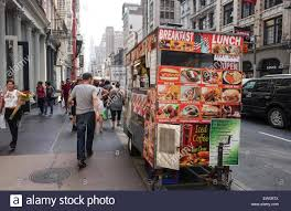 Food Truck In The Streets Of New York City, Manhattan, USA Stock ... The Foodtruck Business Stinks New York Times Midtown Breakfast Truck Could Be Yours For Only 50 A Day Eater Ny With Foodcart Reform Bill On Back Burner City Street Good Bad And Ugly State Of Street Food In America Reader Question How To Start Dub Pies By Gareth Hughes Kickstarter Joyride Nyc This Truck Is Know Serving Up Exceptional Hot Dog Vendors Coffee Carts Turn Black Market Operating Roadblock Drink News Chicago