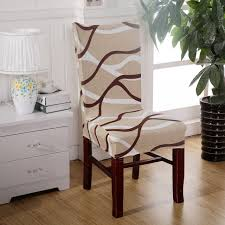 Dining Room Decoration Jacquard Chair Covers Spandex Fabric Machine Washable Hotel Wedding Party Banquet Slipcovers