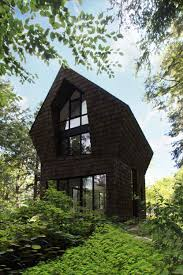 100 Modern Mountain Cabin Tiny Design In The Forest Near Montreal CA
