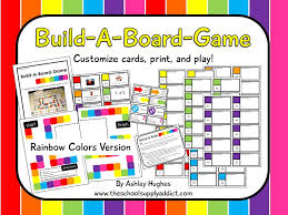 Build A Board Game Rainbow