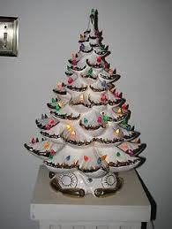 Bulbs For Ceramic Christmas Tree by Vintage Christmas Tree With Lights I Have One Of These My