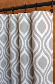 Moroccan Tile Curtain Panels by 33 Best White And Gray Window Curtains Images On Pinterest