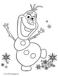 Olaf Is Excited With Annas Birthday Party Print And Color This Beautiful Disney Frozen Fever Coloring Page