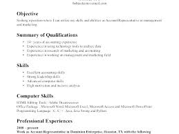 Example Of Skills For Resume Examples Resumes