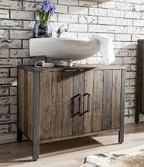 badschrank waschbeckenunterschrank lugano kiefer massiv