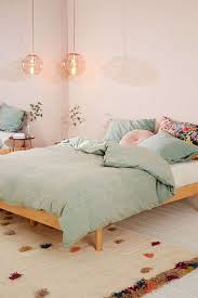 Urban Outfitters Bedding by Bedroom With Pink Bedding From Urban Outfitters D W E L L