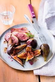 cuisiner figues fraiches magret de canard aux figues fraîches recette interfel les fruits