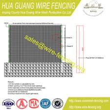 The Drawing Of Anti Climb Fence Installation Including Anti Climb Fence Id 7519556 Buy China Anti Climb Fence 358 Fence