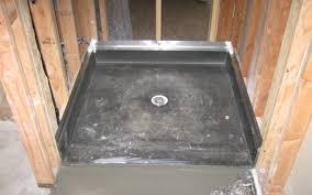 shower shower pan tile appropriate building a tile shower stall