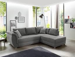 wohnlandschaft tapio 256x196 cm grau schlafsofa sofa bettkasten expendio