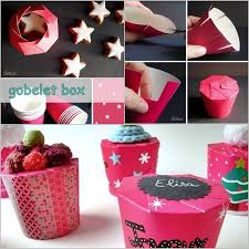 DIY Paper Cup Gift Box