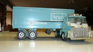 1970's Sears, Roebuck And Company Toy Truck | Collectors Weekly Truck Trailer Toy First Gear Peterbilt 351 Day Cab With Dual Dump Trailers Farmer Farm Tractor And Kids Set Onle4bargains 164 Scale Model Truckisuzu Metal Diecast Trucks Semi Hauler Kenworth And Mack Unboxing Big 116 367 W Lowboy By Horse Hay Biguntryfarmtoyscom Bayer Equipment Custom Bodies Boxes Beds Amazoncom Daron Ups Die Cast 2 Toys Games A Camping Pickup
