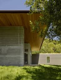 100 Turnbull Architects Wood Soffit Board Formed Concrete Exterior Sonoma