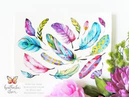 Feathers Watercolor Crush A Coloring Book By Klutz And Illustrations Heatherlee Chan
