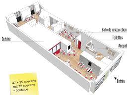 plan cuisine de restaurant au norme maison galerie d idées