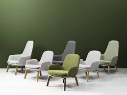 Normann Copenhagen Presents The Era Lounge Collection Outlet Design Store Brands Normann Cophagen Era Lounge Chair High Metal Is Wood Base Rocking By In Chairs Low My Oak Horne Buy Online At Ar Chair Form Danish Modern Simon Legald For