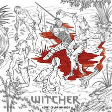 The Witcher Adult Coloring Book Is Coming In November