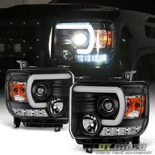 headlights for 2014 gmc 3500 hd ebay