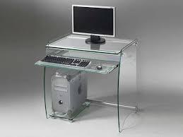 bureau pour ordinateur bureau pour ordinateur en verre