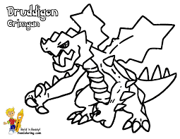 Powerhouse Pokemon Coloring Pages To Print And Free Printable