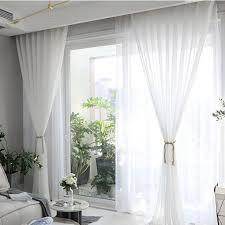 transparent deko kräuselband schiebegardine dekoschal