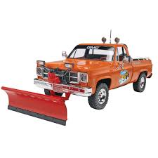 100 Rc Truck Snow Plow Revell 124 GMC Pickup W