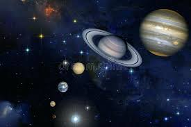 Solar System Background Download In Stars Stock Illustration Of Nebula Planetary Clipart