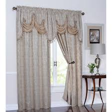 Cheap Waterfall Valance Curtains by Fringed Valance Curtains