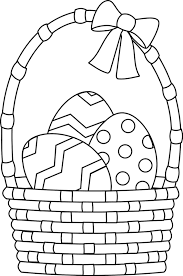 Easter Colouring Pages Bunnies Eggs Baskets Colour In The Student Room