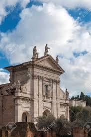 100 Travertine Facade Santa Francesca Romana S Travertine Facade