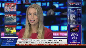 Sky Sports News Presenter This Was How I Intended On Introducing My Story Using