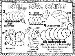 Monarch Butterfly Caterpillar Coloring Page From Into A Colouring Happy
