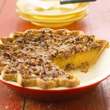 Pumpkin Pie With Pecan Praline Topping by Topped Pumpkin Pie