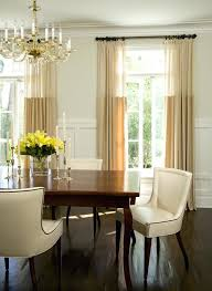 Ideas For Dining Room Curtains Impressive Modern Drapes Bay Window Treatment