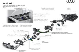 Deep Dive Audi A7 s HD Matrix LED Headlights with Audi Laser