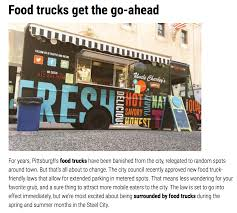 Vroom! New PGH Food-Truck Friendly Laws | Square Cafe | Pittsburgh, PA