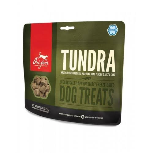 ORIJEN Freeze Dried Dog Treats, Tundra / 3.25 oz