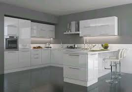 weiße hochglanz küche u form planung und montage
