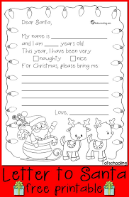 Christmas Preschool Letter to Santa Worksheets Check out this